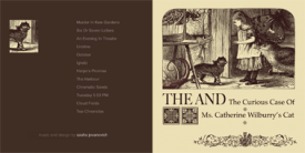 THE CURIOUS CASE OF MRS. CATHERINE WILBURRY'S CAT